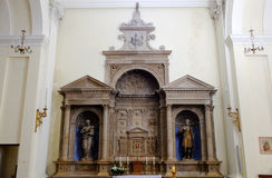 Kyrka av Sant'Emiliano i Trevi Arkivbilder