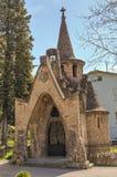 Kyrka av sant marti de sentfores Fotografering för Bildbyråer