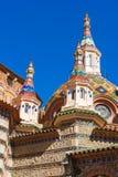 Kyrka av Sant Roma Arkivfoton