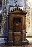 Kyrka av Santa Cecilia i Trastevere, Rome, Italien arkivfoto