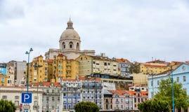 Kyrka av Santa Engracia (nationell panteon) i Lissabon Royaltyfri Fotografi
