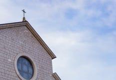 Kyrka av Santa Maria Assunta, Roccaraso, Abruzzo, Italien Octobe Royaltyfri Bild