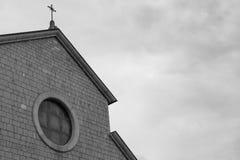 Kyrka av Santa Maria Assunta, Roccaraso, Abruzzo, Italien Octobe Arkivbild