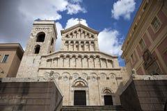 Kyrka av Santa Maria di Castello Arkivfoto