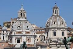 Kyrka av Santa Maria di Loreto royaltyfria foton