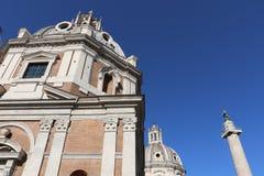 Kyrka av Santa Maria di Loreto royaltyfri foto