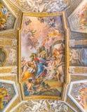 Kyrka av Santa Maria Maddalena i Rome, Italien fotografering för bildbyråer