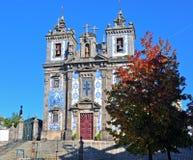 Kyrka av Santo Ildefonso Royaltyfria Bilder