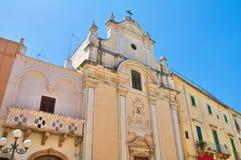 Kyrka av skärseld Fasano Puglia italy Arkivbilder