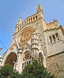 Kyrka av Soller, Majorca Royaltyfria Bilder