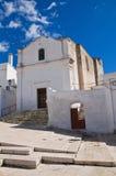 Kyrka av SS. Medici. Massafra. Puglia. Italien. arkivbilder