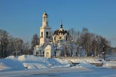 Kyrka av St. Alexander Nevsky Royaltyfri Foto
