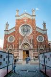 Kyrka av St Anthony av Padua i Beyoglu, Istanbul Fotografering för Bildbyråer