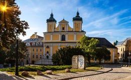 Kyrka av St Anthony Franciscan i Poznan, Polen royaltyfri bild