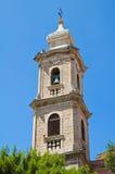 Kyrka av St Antonio Fasano Puglia italy Arkivfoto