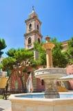 Kyrka av St Antonio Fasano Puglia italy Fotografering för Bildbyråer