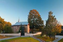 Kyrka av St Boris och Gleb eller Kalozhskaya royaltyfri bild