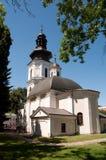 Kyrka av St catrine i Zamosc poland Arkivbild