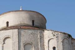 Kyrka av st Donat Zadar, Kroatien Fotografering för Bildbyråer