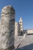 Kyrka av st Donat Zadar, Kroatien Royaltyfri Bild