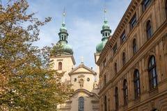 Kyrka av St Havel royaltyfria foton
