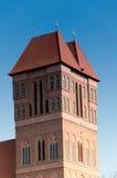 Kyrka av St James i Torun, Polen Arkivfoton
