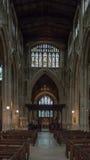 Kyrka av St John Baptist Nave B Fotografering för Bildbyråer