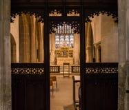 Kyrka av St John Baptist St Catherine Chapel A Arkivbilder