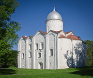 Kyrka av St John Baptistisk-på-Opoki royaltyfria bilder
