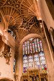 Kyrka av St John det Baptist St Catherine Chapel Vault taket Royaltyfri Bild