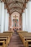 Kyrka av St John Nave A Royaltyfria Bilder