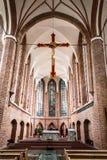 Kyrka av St John Nave B Arkivbild