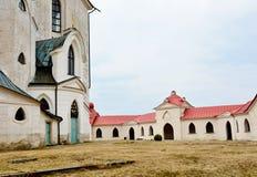 Kyrka av St John av Nepomuk - Zelena Hora royaltyfri fotografi