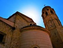 Kyrka av St John på Kaneo, Ohrid, Makedonien arkivfoto