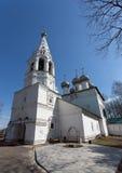 Kyrka av St John prästen i den Ipatyevskaya bosättningen Arkivfoton