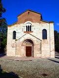 Kyrka av St. Laurence i Trento, Italien Fotografering för Bildbyråer