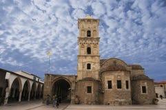 Kyrka av St Lazarus på Larnaca, Cypern Royaltyfria Foton