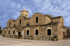 Kyrka av St Lazarus på Larnaca, Cypern Arkivfoton