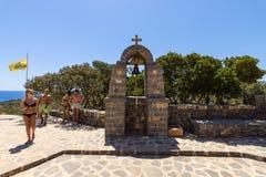 Kyrka av St Luke Royaltyfri Fotografi