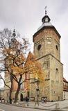 Kyrka av St Margaret i Nowy Sacz poland Arkivfoton