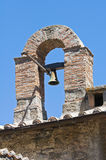 Kyrka av St. Maria della Neve. Montefiascone. Lazio. Italien. Arkivfoto