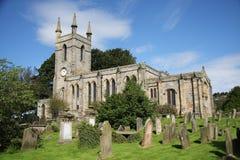 Kyrka av St Mary, Belford Arkivfoton