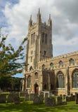 Kyrka av St Mary oskuldSten Neots Royaltyfri Fotografi