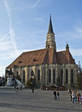 Kyrka av St Michael i Cluj Royaltyfria Bilder