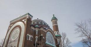 Kyrka av St Michael och St Anthony, Montreal Arkivbilder