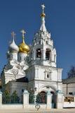 """Kyrka av St Nichlas av Myra i Pyzhi †1670"""" 1690, Bolshaya Ordynka, Moskva Arkivbild"""