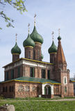 Kyrka av St Nicholas blöta i Yaroslavl, Ryssland Royaltyfri Fotografi