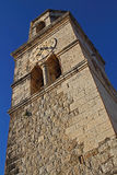 Kyrka av St Nicholas, Cavtat Royaltyfri Foto