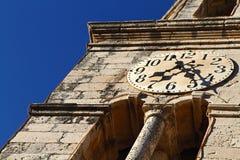 Kyrka av St Nicholas, Cavtat Arkivfoto