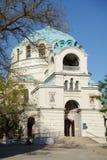 Kyrka av St Nicholas i Eupatoria, Ctimea Arkivbild
